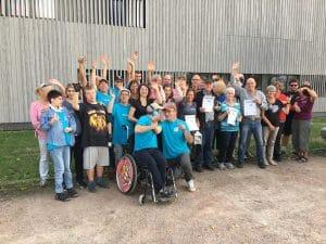 16. Bocchia Turnier der Abteilung Behindertensport am 22.09.2018