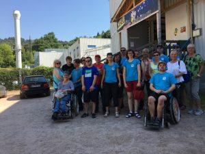 Behindertensport Jahresausflug 2018